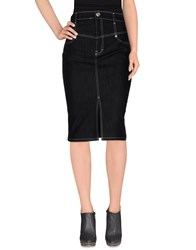 Escada Sport Denim Denim Skirts Women Black