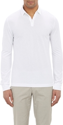 Zanone Slub Polo Shirt White