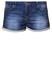 Ltb Judie Denim Shorts Ardesia Wash Blue