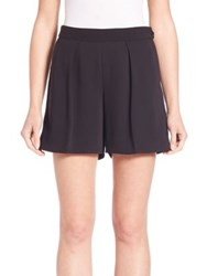 Polo Ralph Lauren Pleated Twill High Rise Shorts Polo Black