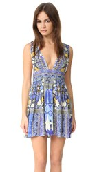 Camilla Rhythm And Blues V Neck Dress Seeing Stars