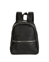 Kensie Faux Leather Backpack Black