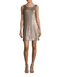 Bb Dakota Glittery Sequin Dress Gold