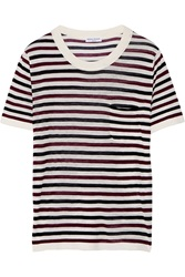 Sonia Rykiel Fine Knit Silk And Cotton Blend Top