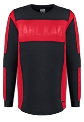 Karl Kani Tabit Sweatshirt Black Red