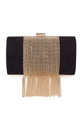 Coast Rue Fringe Tassel Bag Black