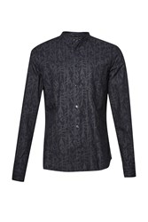 French Connection Bamboo Cotton Brosnan Shirt Blue