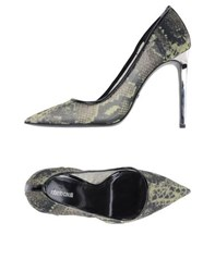 Roberto Cavalli Footwear Courts Women Acid Green