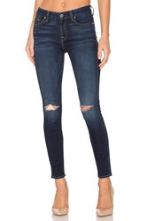 7 For All Mankind The Knee Slit Ankle Skinny Dark Canterbury 2