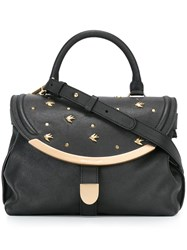 See By Chloe Small 'Lizzie' Tote Black