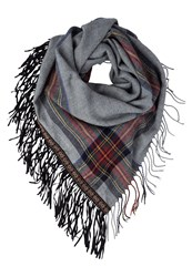 S.Oliver Scarf Grey Check