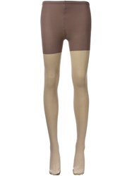 Theatre Products Short Panel Leggings Grey
