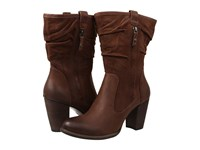 Ugg Dayton Chocolate Water Resistant Leather Women's Zip Boots Brown