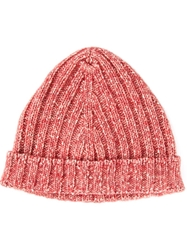 Dondup Knit Beanie Red