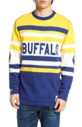 Mitchell And Ness Men's Buffalo Open Net Pullover