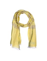 Ermanno Scervino Scervino Street Accessories Oblong Scarves Men Yellow