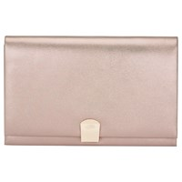 Phase Eight Paloma Shimmer Clutch Bag Champagne