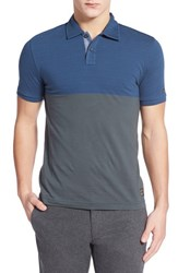 Men's Original Penguin 'Rowing' Colorblock Polo