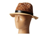 Steve Madden Loose Weave Panama Hat Natural Traditional Hats Beige