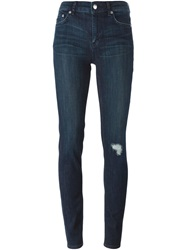 Blk Dnm Ripped Skinny Jeans Blue