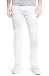 Men's Prps 'Demon' Slim Straight Leg Jeans White