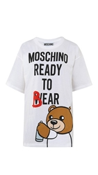 Moschino Printed T Shirt Color