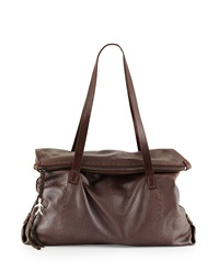 Lady Amazone Medium Fold Over Tote Bag Henry Beguelin