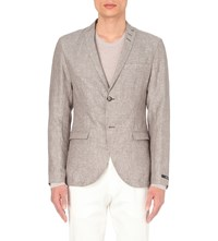 Tiger Of Sweden Jil Linen Blazer Tan