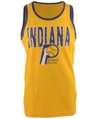 '47 Brand Men's Indiana Pacers Swagger Tank Top Gold Royalblue
