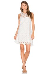 Wayf Cross Strap Dress White