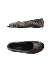 Collection Privee Collection Privee Ballet Flats Dark Brown