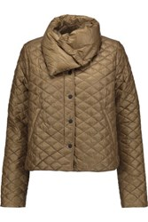 Duvetica Anfinolea Quilted Shell Down Coat Mushroom