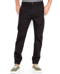Levi's Men's Chino Jogger Pants Black