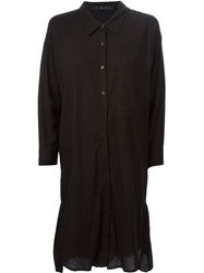 Kai Aakmann Pleated Hem Shirt Dress
