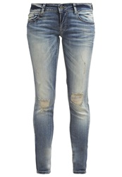 Only Onlcarrie Slim Fit Jeans Medium Blue Denim