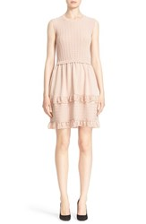 Women's Red Valentino Knit Fit And Flare Dress