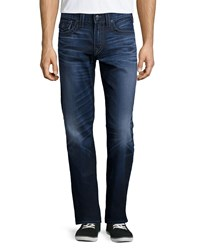 True Religion Ricky City Highlight Denim Jeans Blue
