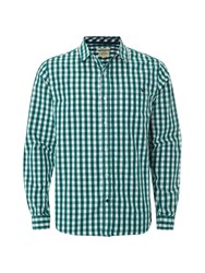 White Stuff Midway Gingham Shirt Green