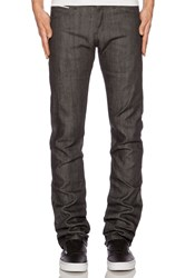Naked And Famous Skinny Guy Charcoal Selvedge