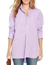 Polo Ralph Lauren Cotton Tunic Purple