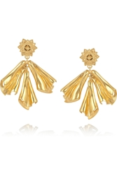Sophia Kokosalaki Gold Plated Silver Drop Earrings