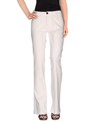 Mauro Grifoni Denim Denim Trousers Women White