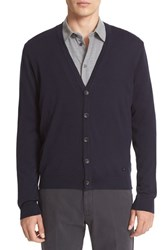 Armani Collezioni Men's Collection Wool Cardigan