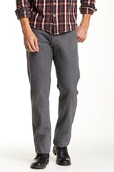 Agave Pragmatist Flannel Classic Cut Straight Leg Pant Gray