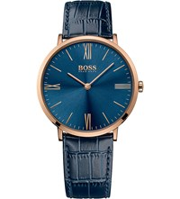 Hugo Boss 1513371 Jackson Rose Gold Plated Stainless Steel Watch