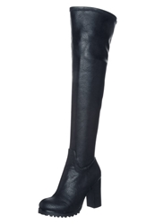 Buffalo Overtheknee Boots Black