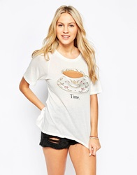 Wildfox Couture Wildfox Tea Time Perfect T Shirt Vintagelace