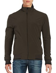 Weatherproof Ultra Stretch Fleece Lined Bomber Loden