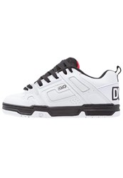 Dvs Shoe Company Comanche Skater Shoes White Black Red