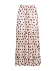 George J. Love Skirts Long Skirts Women Beige